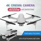 US Best Camera Drone GPS 4K 1080P HD Dual Camera Follow Me Quadrocopter FPV Dron