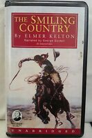 The Smiling Country by Elmer Kelton: Unabridged Cassette Audiobook (II2)