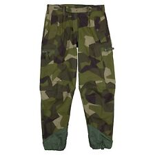 "Swedish M90 Camouflage Field Trousers. Genuine Surplus 30"" Waist"