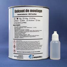 Gelcoat NOIR polyester de moulage  1KG