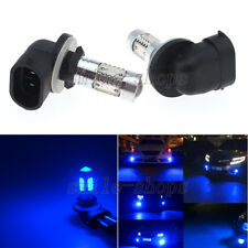 2pcs Blue 5 COB 11W 881 894 H27W2 LED Car Bulb Fog Light Driving Headlight DRL