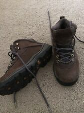 Womens Timberland White Ledge Waterproof Hiking Boots Size 7.5 mid ankle EUC