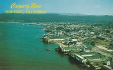 Lam (D) Monterey, Ca - Bird's Eye Panorama Conservificio Fila e Coast Line