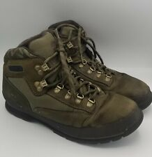 Men's Timberland Hiking Boots Army Camo Nubuck Green Ankle 3317 Street size 12