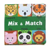 Melissa & Doug Soft Activity Baby Book - Mix and Match