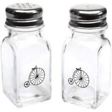 'Penny Farthing' Glass Salt & Pepper Shakers (SH00015305)