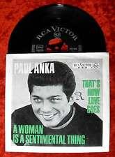 Single Paul Anka: that's How Love Goes (RCA Victor 47-92 28) D