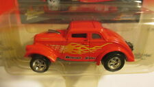 "2001 Johnny Lightning Willys Gassers ""Bryson & Sons"" red with flames"