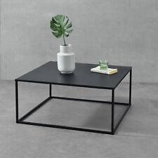 B-WARE Couchtisch Metall Tisch Beistelltisch Wohnzimmertisch Sofatisch Schwarz