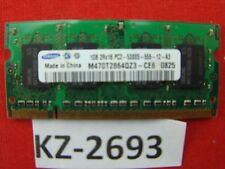 Samsung M470T2864QZ3-CE6 1 GB PC2-5300S DDR2 SDRAM 667MHz #Kz-2693