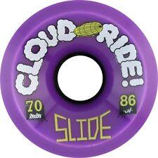CLOUD RIDE! SLIDE 70mm 86a PURPLE Skateboard Wheels