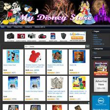 New Listingwalt Disney Store Earn Money Online Affiliate E Commerce Website Free Domain