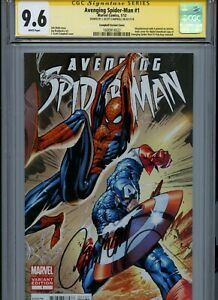 CGC 9.6 Signature Series Avenging Spider-Man #1 Campbell Variant Signed