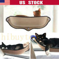 Cat Window Mounted Sunshine Bed Basking Hammock Pet Shelf Perch Seat Suction Cup