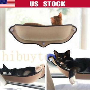 Cat Window Mounted Sunshine Bed Basking Hammock Pet Shelf Perch Seat Suction Cup