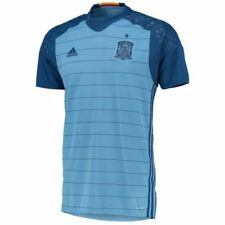 Camisetas de fútbol de clubes españoles para hombres azul adidas