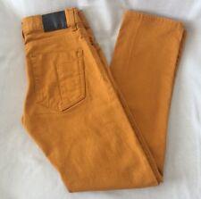 Levi's Denizen Jeans 216 Skinny Fit Boys Sz 4 Regular Gold color