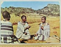 Dear Doctor Abbott Pentothal Postcard South Africa to US Army Camp Lucas 1958