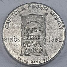 Vintage Capitola Flour Money 5 Cent Trade Token, Atlanta Georgia