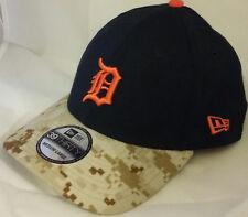 NWT NEW ERA Detroit TIGERS camo 39THIRTY size medium-large baseball cap hat mlb