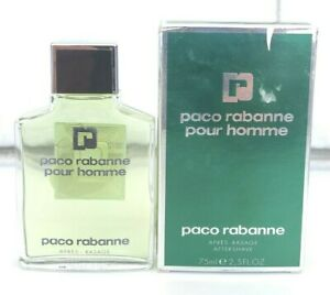 FRANCE PACO RABANNE POUR HOMME AFTER SHAVE 75 ml 2.5 oz SPLASH