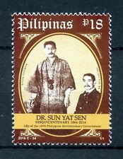 Philippines 2016 MNH Dr Sun Yat Sen 1v Set Politicians Presidents Stamps