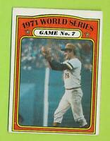 1972 Topps World Series Card - Game #7 (#229)  VG-EX