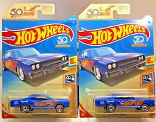 2018 Hot Wheels Plymouth '70 Road Runner Hw 50th Anniversary Race Team Lot of 2