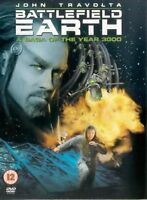 Battlefield Earth - John Travolta, Barry Pepper, Roger Christian New Sealed DVD