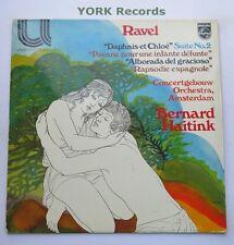 6580 055 - RAVEL - Daphne Et Chloe HAITINK Concertgebouw Orchestra- Ex LP Record