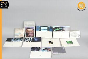 2003 Mercedes-Benz W215 CL500 Owner's Manual Book Set OEM