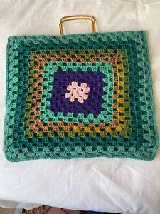 Vintage Ladies Pride, Crochet Bag