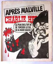 """Charlie Hebdo N°351 du 4/08/1977; """"Après Malville"""" par Cabu"""