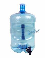 5 Gallon Water Bottle Faucet Dispenser PET 55mm Crown Top Reusable Container Jug
