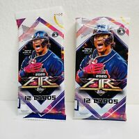 LOT of 2 NEW SEALED Baseball Cello/Fat PACKS 2020 TOPPS FIRE Tatis, Trout, Auto?