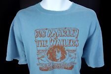 Large Bob Marley & Wailers Blue T Shirt Sat May 29 Paramount Theatre Free Ship