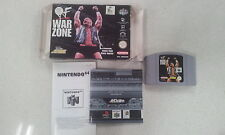 WWF War Zone Nintendo N64 Boxed with Manual PAL Version