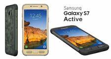 "Samsung Galaxy S7 G891A Active - 5,1"", 32GB, Holzoptik/Gold  WL-Charger, Neuware"