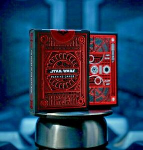 Star Wars Playing Cards Red The Dark Side by Theory11 Darth Vader Poker Magic