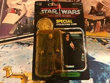 1984 Star Wars POTF Power of the Force 92 Back The Emperor Action Figure MOSC