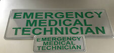 EMT REFLECTIVE BADGE PACK - LARGE 300mm x 100mm / small 135mm x 45mm