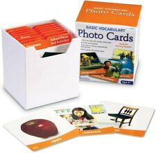 Learning Resources Basic Vocabulary Photo Card Set New