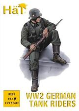 Sombreros 1/72 (20mm) II Guerra Mundial Alemán pilotos de tanque FIGURAS KIT /