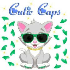 Cutie Caps 40 pack Apple Green Soft Nail Defense Guard for Cat Paws / Claws