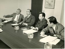 Corelli, Livatino e Saetta  Vintage silver print Tirage argentique  18x24