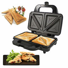 Deep Fill 900W Sandwich Toaster Toastie Maker Non Stick Stainless Steel Machine