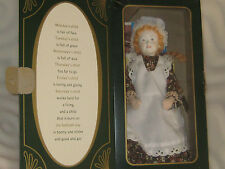 """Vintage Peggy Nisbet Victorian Birthday Doll China Head Doll 12"""" Limited Edition"""