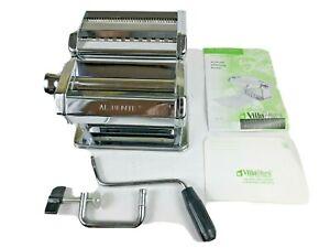 PASTA MACHINE MAKER AL DENTE VILLAWARE CLASSIC ITALIAN KITCHENWARE Never Used!
