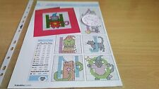 CROSS STITCH CHART HALLOWEEN ALPHABET & NUMBERS CHARTS SPOOKY CHARTS