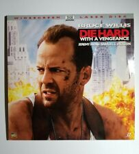 Laserdisc (Ld) Die Hard With A Vengeance - Bruce Willis - Jeremy Irons